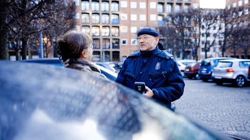 P-vagter skaber tryghed på gaden
